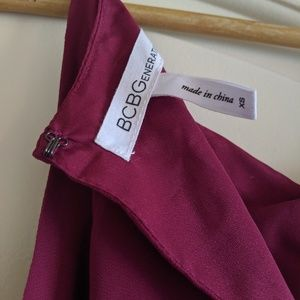 BCBGeneration Dresses - BCBGeneration Wine/Berry Strappy Mini Dress!